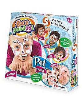 Face Paintoo Pet Pack