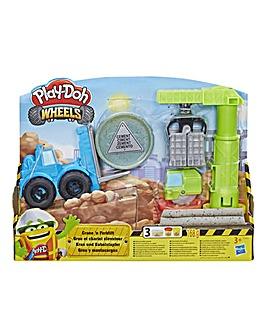 Play-Doh Crane & Forklift