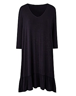 Junarose Frilled Hemline Dress