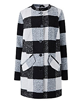 Junarose Mono Checked Jacket