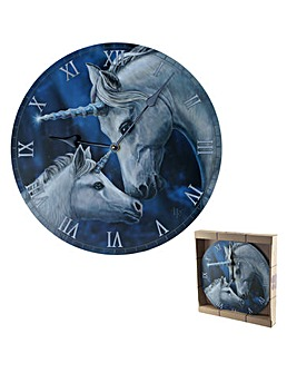 Lisa Parker Sacred Love Unicorn Clock