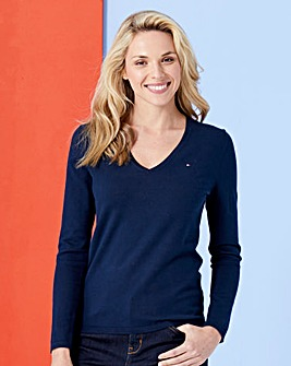 Tommy Hilfiger New Ivy V-Neck Sweater