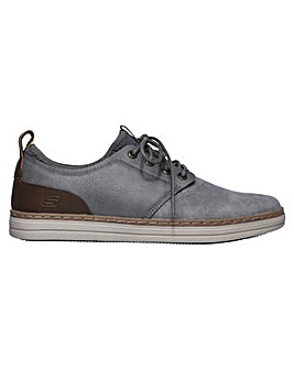 Skechers Heston Rogic Leather Shoe