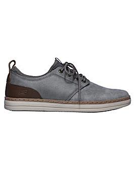 Skechers Heston Rogic Leather Shoe