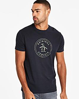 Original Penguin Camo Logo T-Shirt Reg