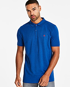 Original Penguin Raised Rib Short Sleeve Polo Long