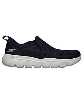 Skechers Ultra Go Twin Gore Slip On Shoe