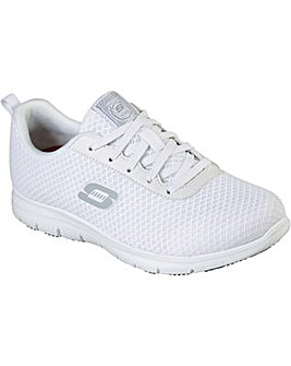 Skechers Squad SR Lace Up Safety Shoe