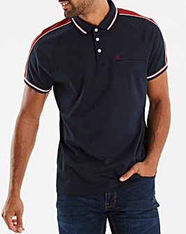 Original Penguin Colour Block Short Sleeve Polo Long
