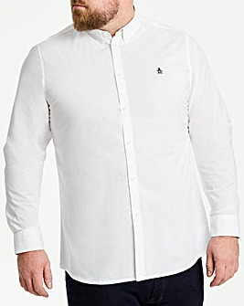 Original Penguin Plain Poplin Long Sleeve Shirt Regular