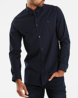 Original Penguin Plain Poplin Long Sleeve Poplin Shirt Long