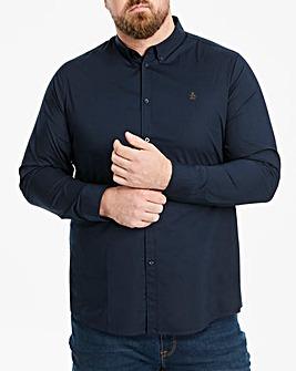 Original Penguin Plain Poplin Shirt Reg