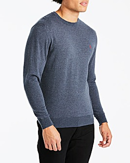 Original Penguin Supima Cotton Crew Neck Jumper Regular