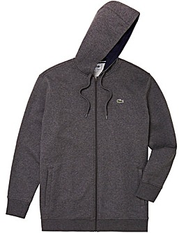 Lacoste Tall Zip Through Sweatshirt