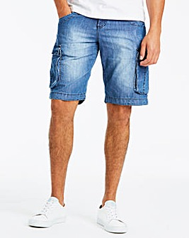 883 Police Denim Cargo Short