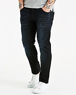 883 Police Black Wash Jean 31 In