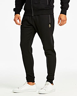 Luke Sport Black Rome 2 Joggers 31in
