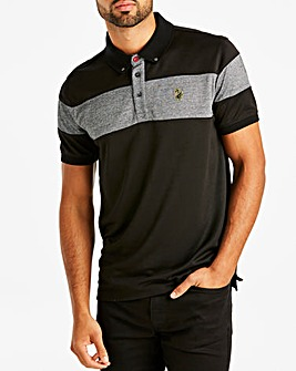 Luke Sport Black Mix Polo R