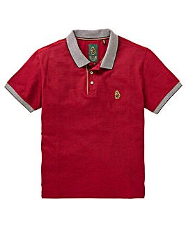 Luke Sport Deep Red Whittle Polo R
