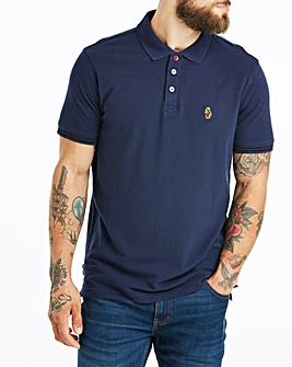 Luke Sport Navy New Mead Polo R