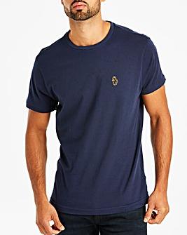 Luke Sport Navy Buddy Lad Printed T-Shirt Regular