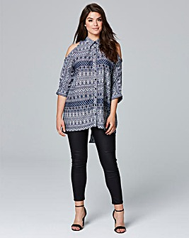 AX Paris Cold Shoulder Blouse