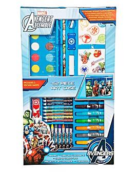 Marvel Avengers 52 Piece Art Case