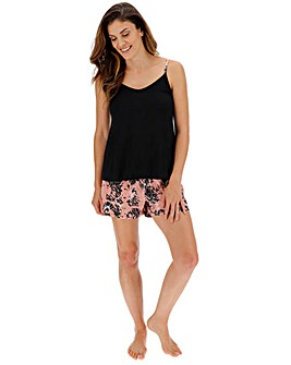 Pretty Secrets Viscose Cami Shortie Set