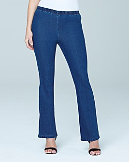 Petite Pull-On Bootcut Jeggings