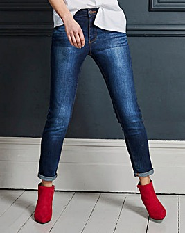 Petite Indigo Sadie Slim Leg Jeans