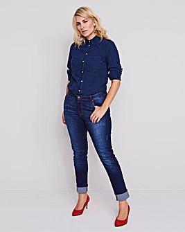 Indigo Sadie Slim Leg Jeans Regular