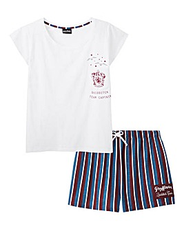 Harry Potter Stripe Shortie Set