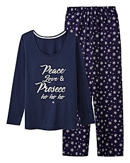 Pretty Secrets Long Sleeve Christmas Pj