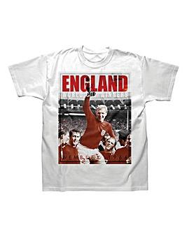 England 1966 Anniversary T Shirt