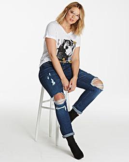 Layla Ripped Boyfriend Jeans
