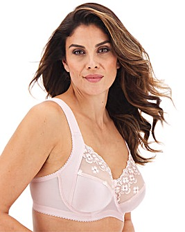 Miss Mary Flora Embroidered Wired Bra