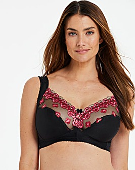 Miss Mary Flora Embroidered Non Wired Bra