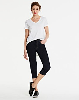 Indigo Crop Jeans