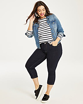 Indigo Everyday Crop Jeans
