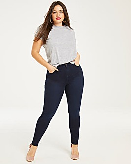 Lucy High Waist Skinny Jeans Regular
