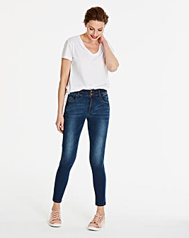 Blue Shape & Sculpt Skinny Jeans Regular