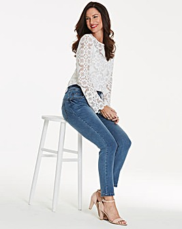 Shape & Sculpt Straight Jeans Regular