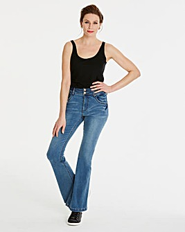 Light Blue Shape & Sculpt Jeans Bootcut