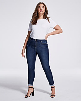 Indigo Eco Slim Leg Jeans With COOLMAX®