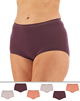 Sloggi 6Pack Basic Maxi Briefs