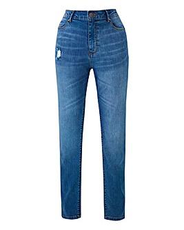 Petite Bridget Straight Leg Jeans