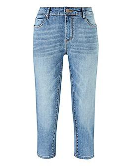 Petite Sadie Crop Slim Leg Jeans