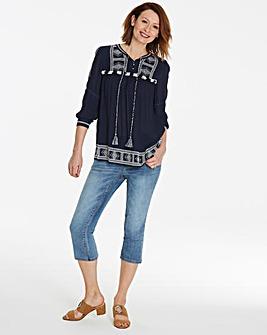 Sadie Slim Leg Crop Jeans