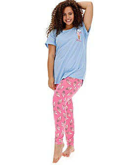 Pretty Secrets Short Sleeve Legging Set