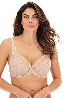 Playtex Flower Lace Full Cup Wired Bra